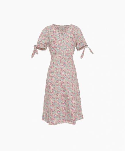 Robe Midi Fleurie Ninette