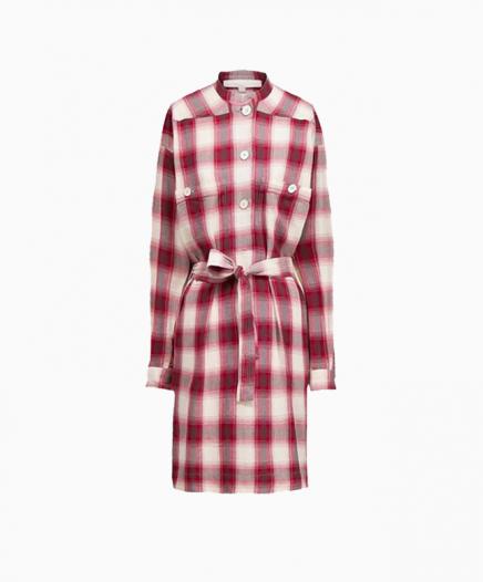 Robe Maya Aubergine