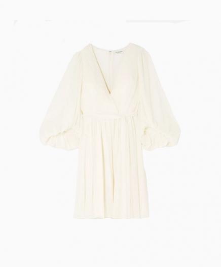 Short Fortuny dress