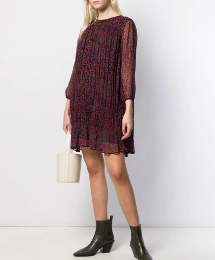 Robe Grace Bordeaux