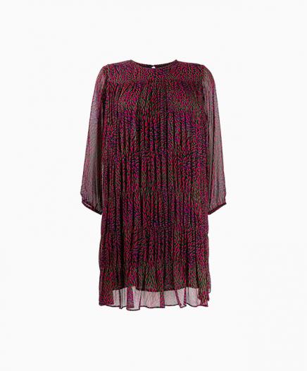 Robe Grace Bordeaux