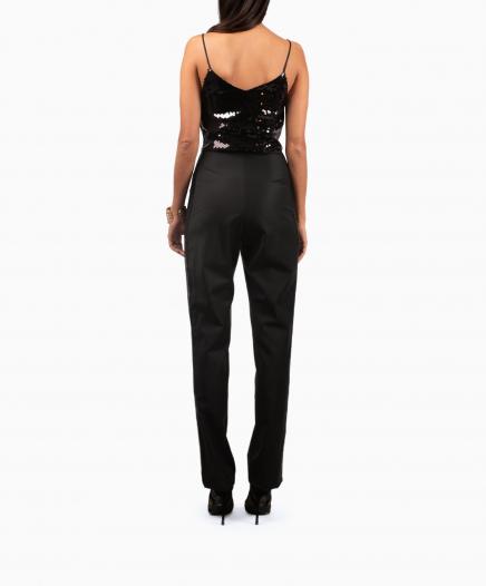 Caraco Sparkle Tiger Black Jumpsuit