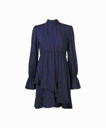 Robe Ruffle Hem