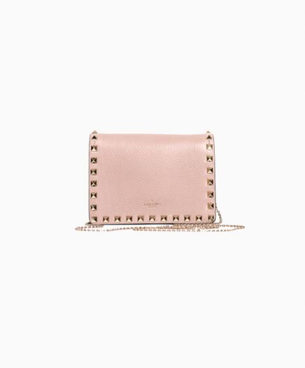 Pink Mini Rockstud bag