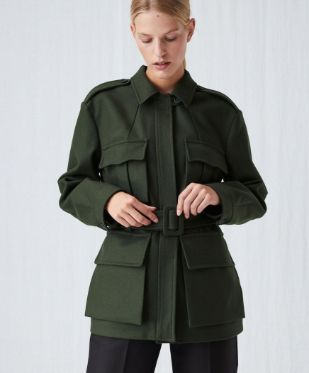 Veste Melton Wool