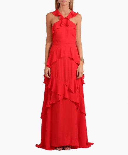 Robe Audrianna Rouge