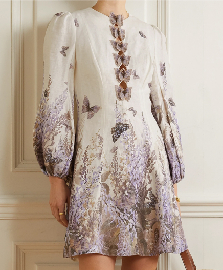 Robe Lumineuse Butterfly