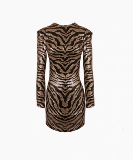 Robe Zebra Stripe