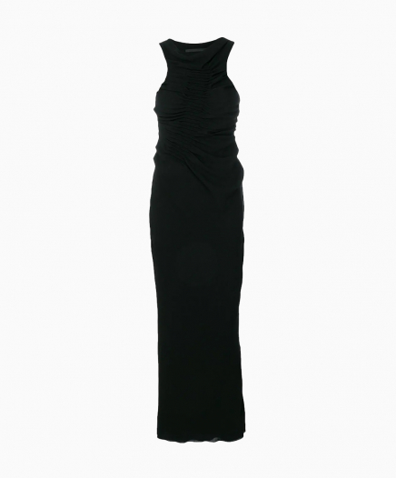 Robe longue Ruched