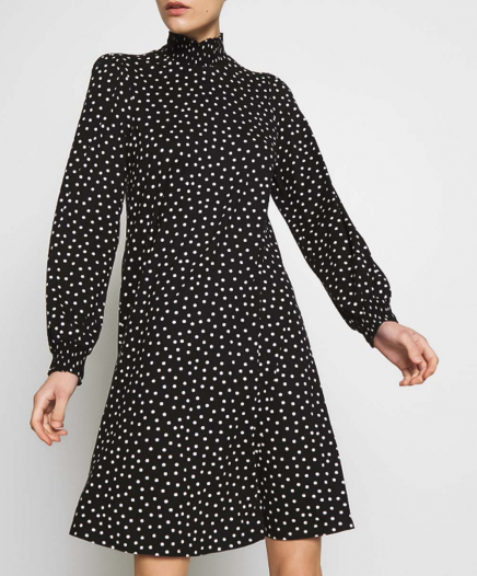 Robe Polka Dot Officier