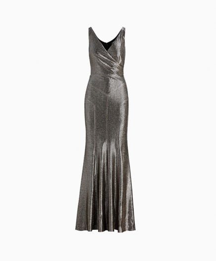 Robe Metallic Sleeveless
