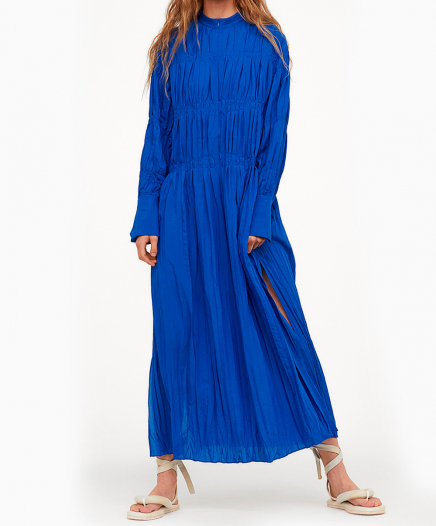 Robe Bleue Électrique