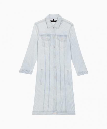 Robe Denim Bleached PERDU/VENDU
