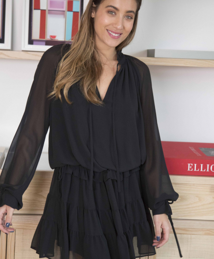 Robe Rosemary Black