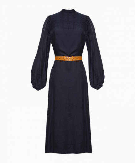 Quentin Navy Dress