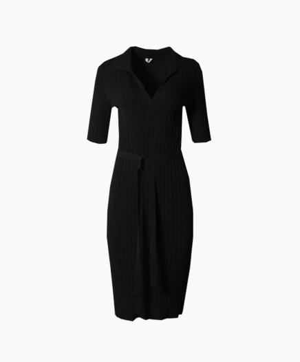 Robe Cotton Black