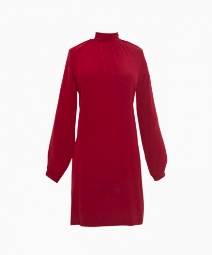 Robe Cecily bordeaux
