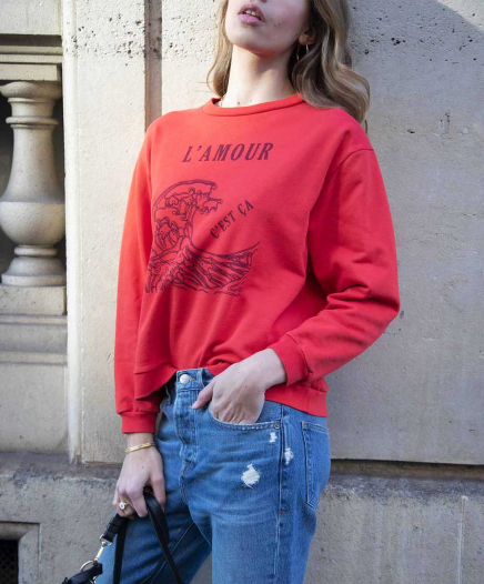 Sweat Amour Rouge