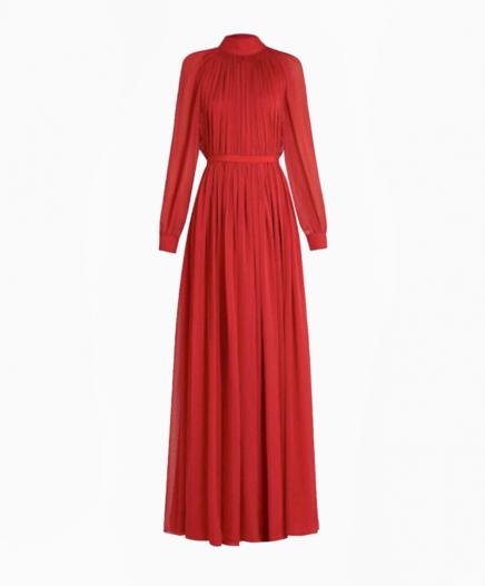 Red Bohemia dress