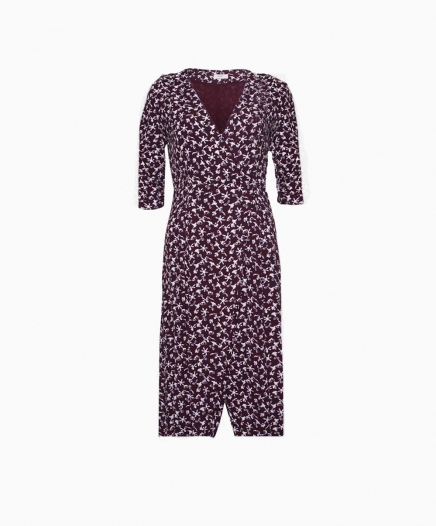 Robe Coachella Bordeaux DOUBLON