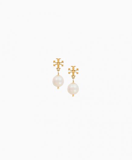 Boucles d'oreilles Crystal Pearl Drop