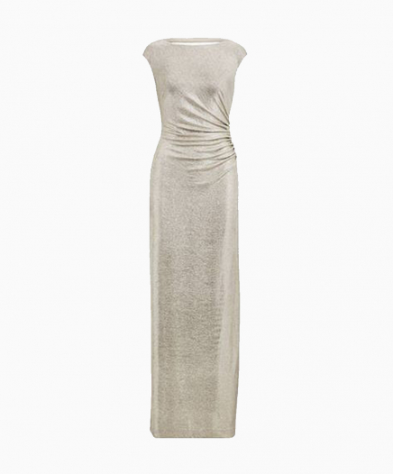 Ivana Metallic dress
