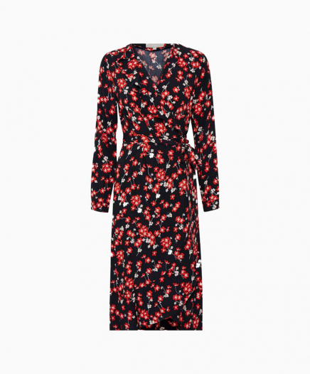 Robe Flower Red