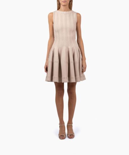 Beige Corolle dress