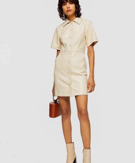 Robe Shirt Blanche