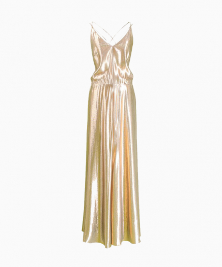 Gold Martine dress