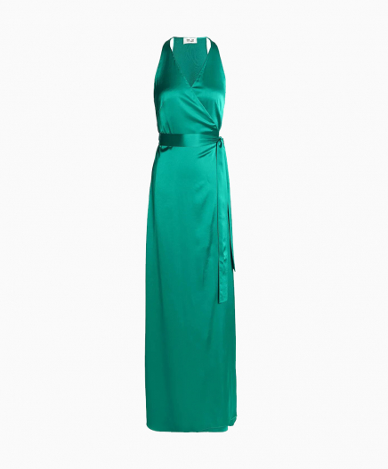 Robe Paola Green Wrap