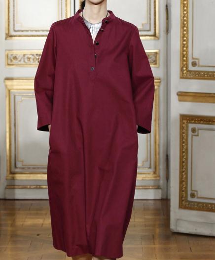 Robe Burgundy  PAS LA