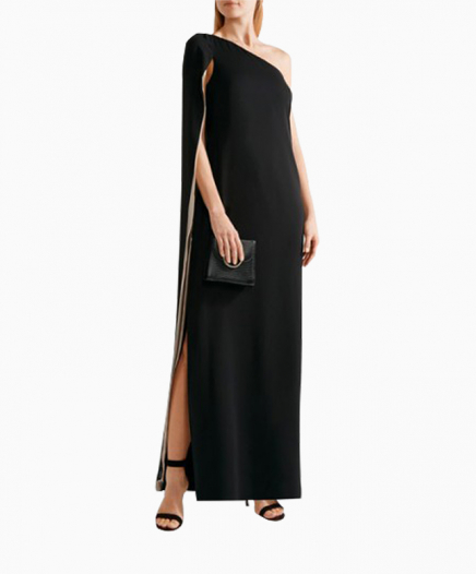 Robe One shoulder cape
