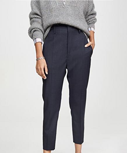 Pantalon Noah bleu marine