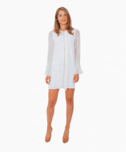 robe Jane blanche