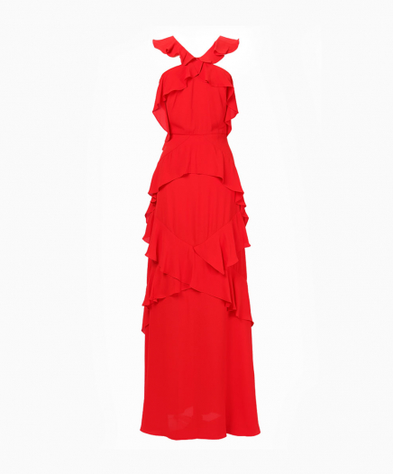 Robe Audrianna Rouge