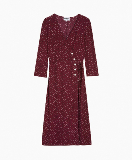 Robe Gabin Bordeaux