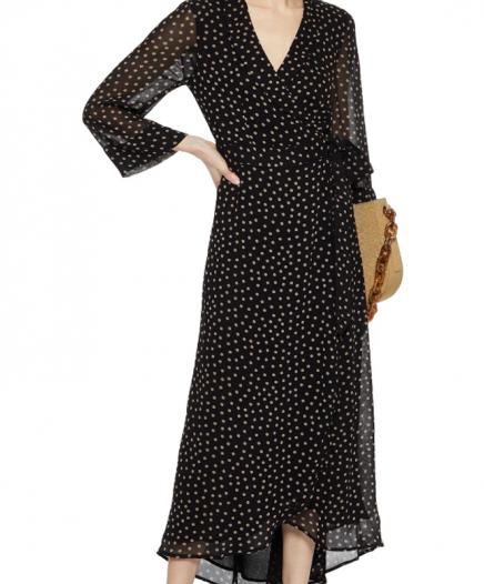 Robe Printed Georgette Wrap