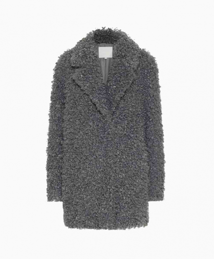 Manteau Faux Fur Grey