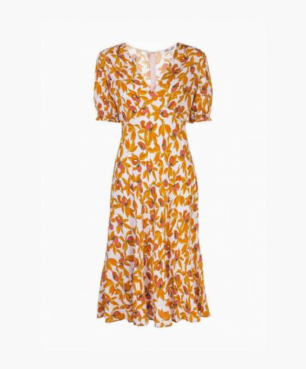 Robe Idris floral