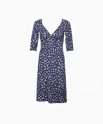 Robe Silk Wrap Blue VENDU