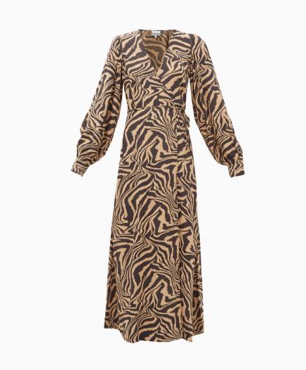 Robe Zebra Wrap