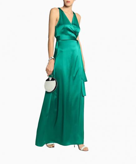 Robe Paola Green Wrap