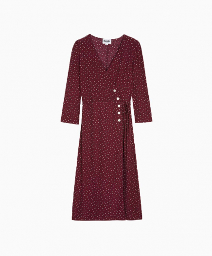 Robe Gabin Bordeaux