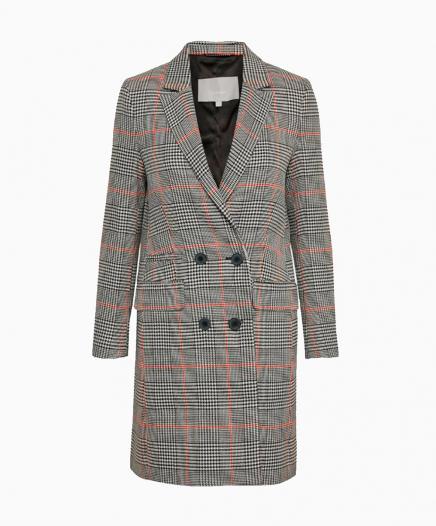 Manteau Classique Gris