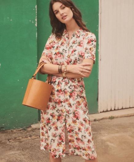 Robe Lexia à fleurs