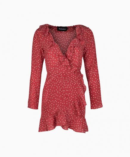 Robe Alexandra rouge