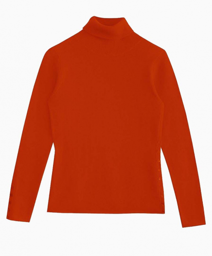 Pull Turtle Neck Orange