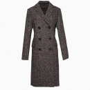 Manteau Long Anthracite
