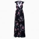 Robe Floral Noeud